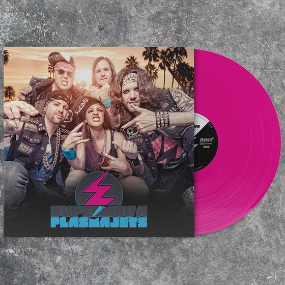 Image of Supernova Plasmajets Vinyl (normal / personally signed)
