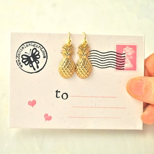 Image of Pineapple earrings