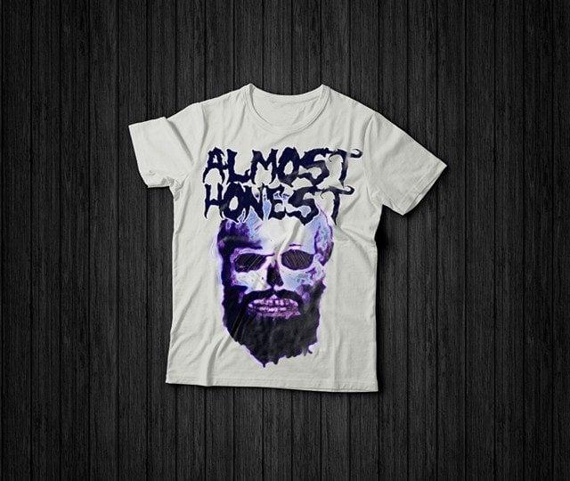 Image of Skull Beard T-Shirt