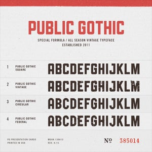 Image of Public Gothic License for 80 seats