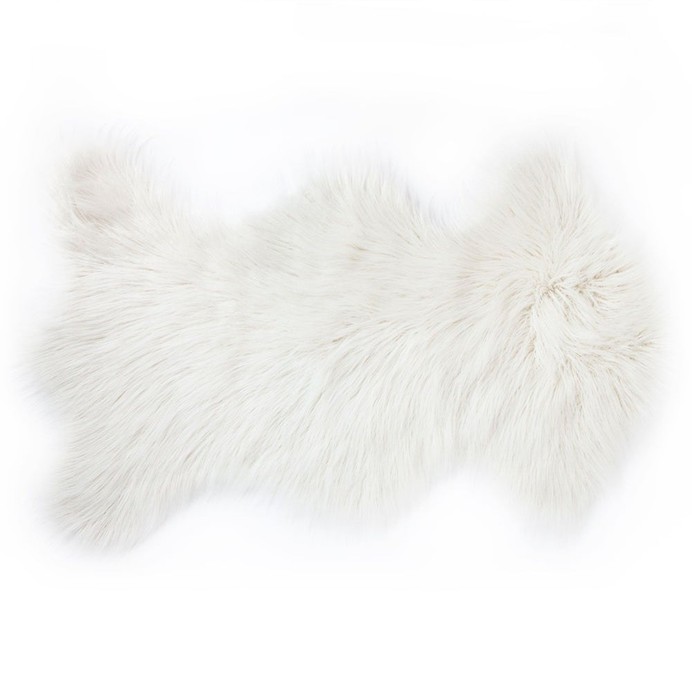 Image of 676685041739 Rockwall Mongolian Sheepskin Throw Rug 2x3