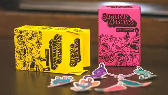 Image of Saturday Mornings // Cereal Box Sticker Pack