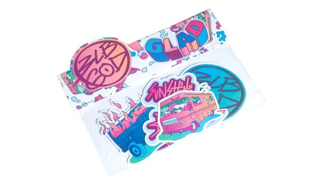 Image of Glad Pack // Sticker Pack
