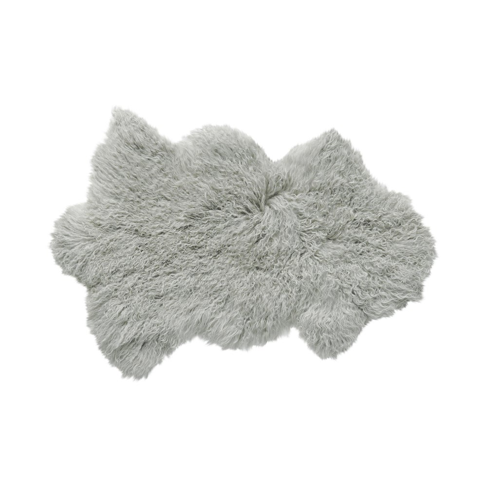 Image of 676685041760 Rockwall Mongolian Faux Sheepskin 2x3 Grey