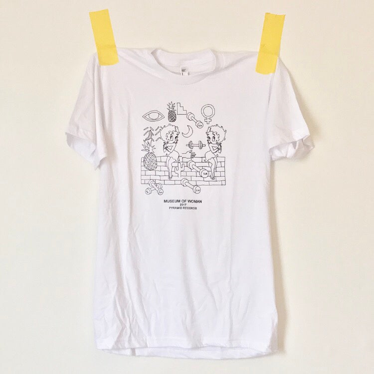 Image of museum of woman shirt