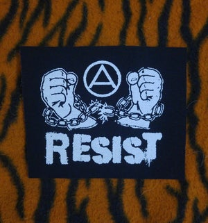 Image of Pick 1 patch - A.C.A.B., Resist, The Partisans, Be kind to animals...