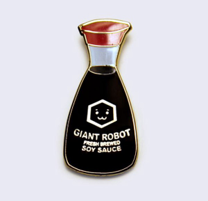 Image of Giant Robot x 'Umi Toys Hawai'i Soy Sauce Pin Singles and Sets