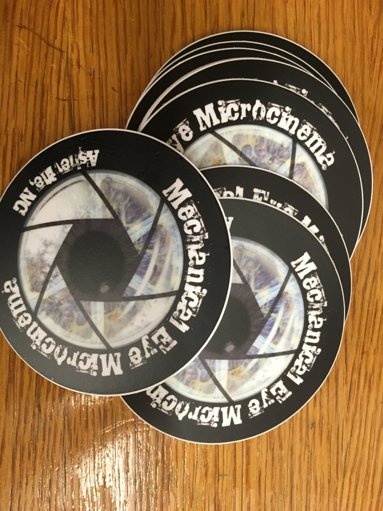 Image of Mechanical Eye Stickers