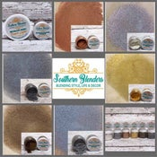 Image of Southern Blenders 6 Beautiful Metallic Gilding Powders