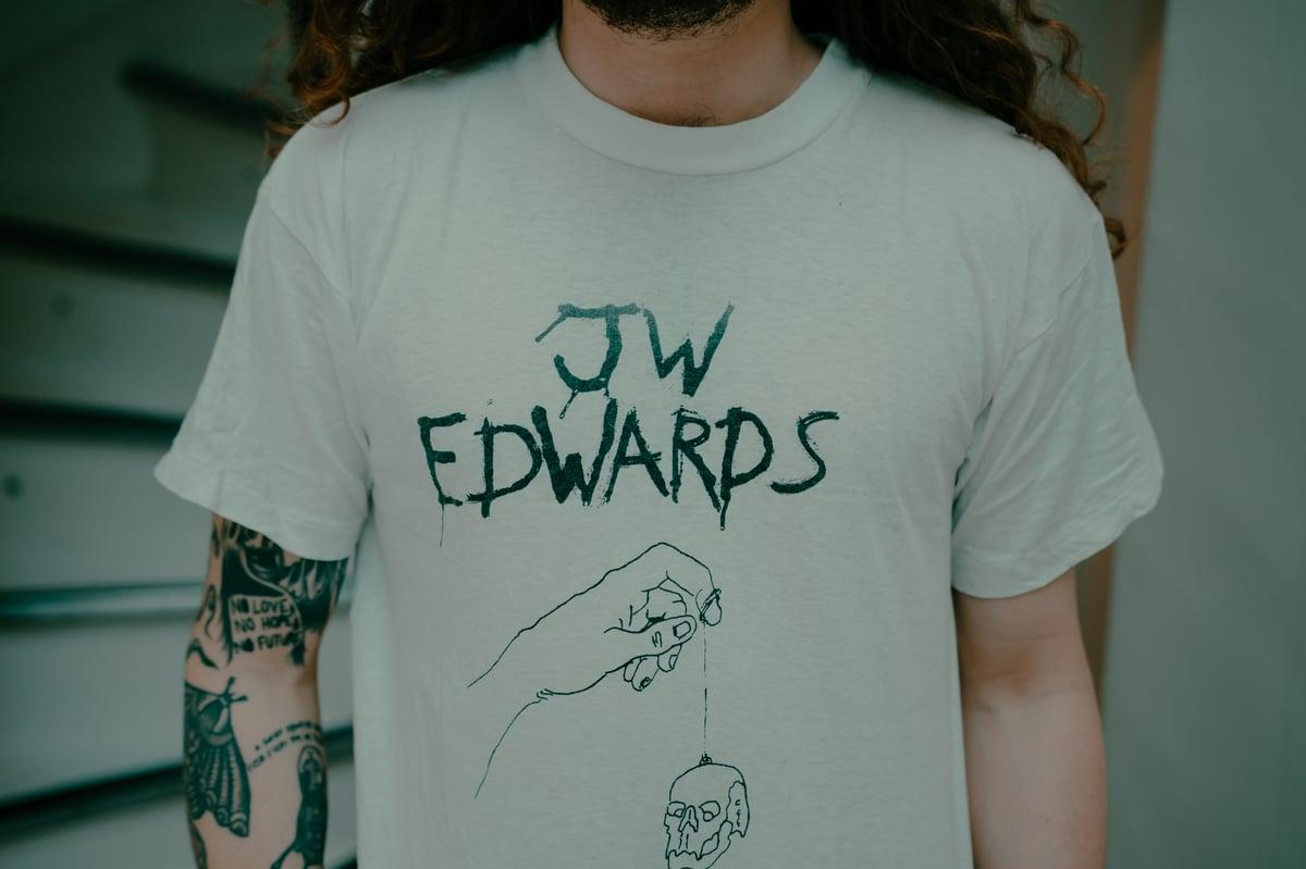 Image of JW Edwards White Tee Shirt