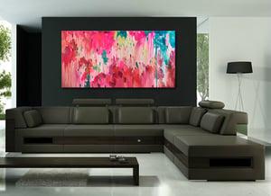 Image of 'Hortus luminum' - 182x91cm