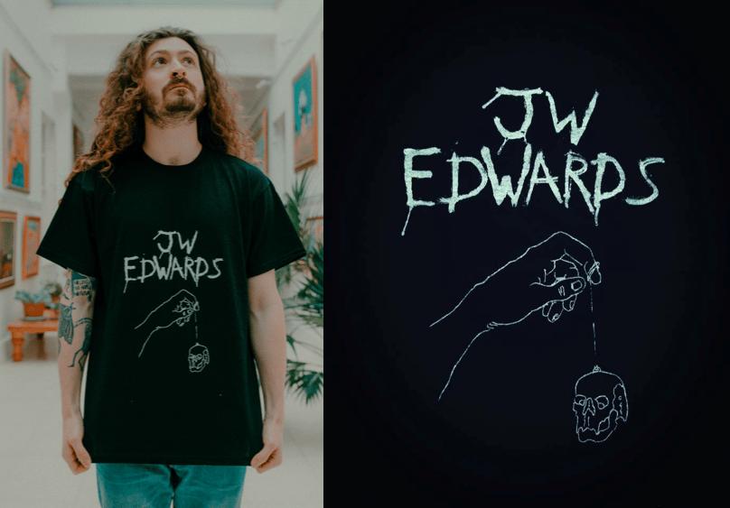 Image of JW Edwards Black Tee Shirt