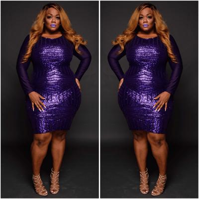 Purple Passion - Plus Size Fashionz