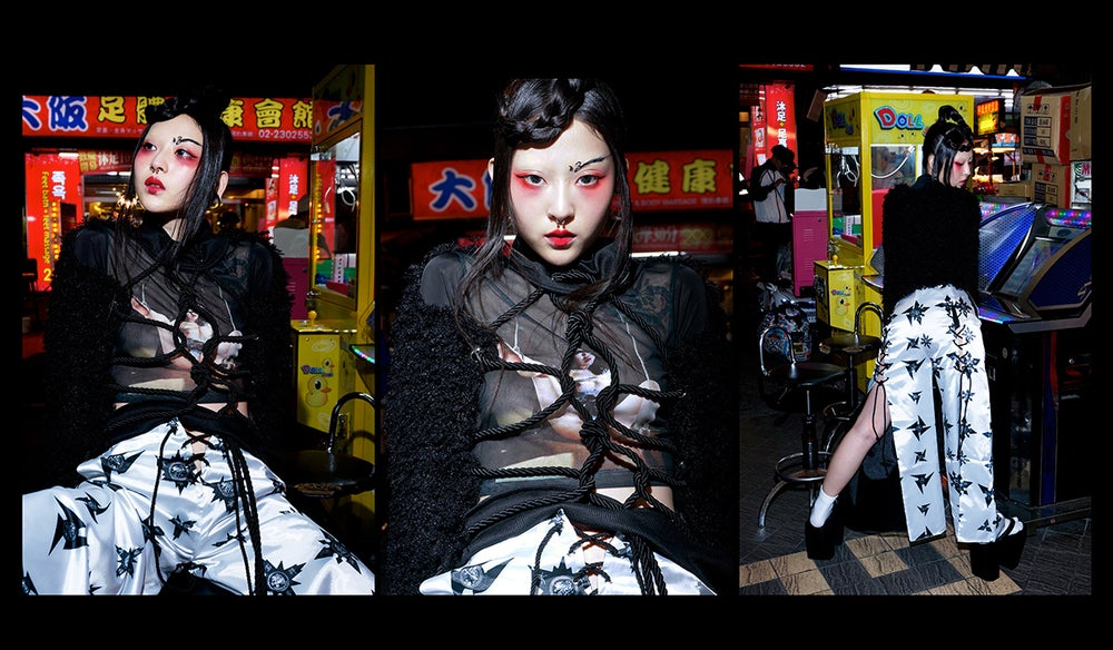 Image of DVMVGE TOKYO X' Shibari Girl' Transparent Top