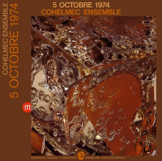 Image of COHELMEC ENSEMBLE - 5 Octobre 1974 - 2LP - (FFL021)