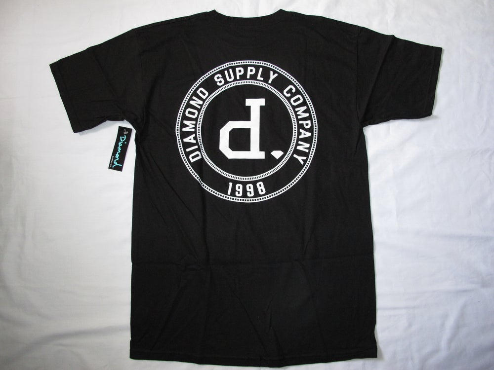 Image of Diamond Supply Co. - College Seal Tee (Black)