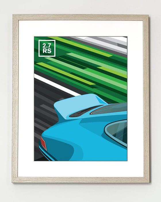 Image of Affiche Porsche 911 2.7 RS