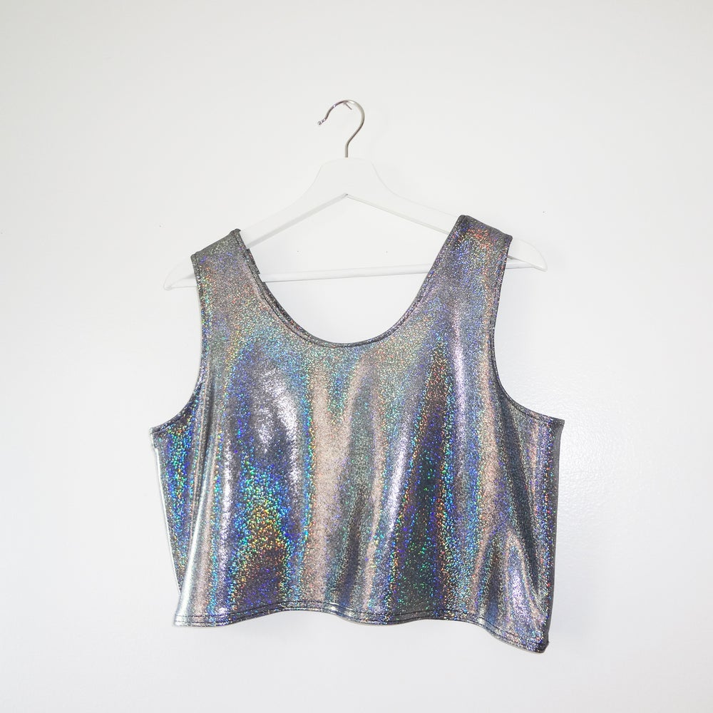 Image of GALACTICA CROP TOP