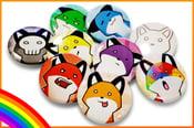 Image of Rainbow Foxes (Full Set)