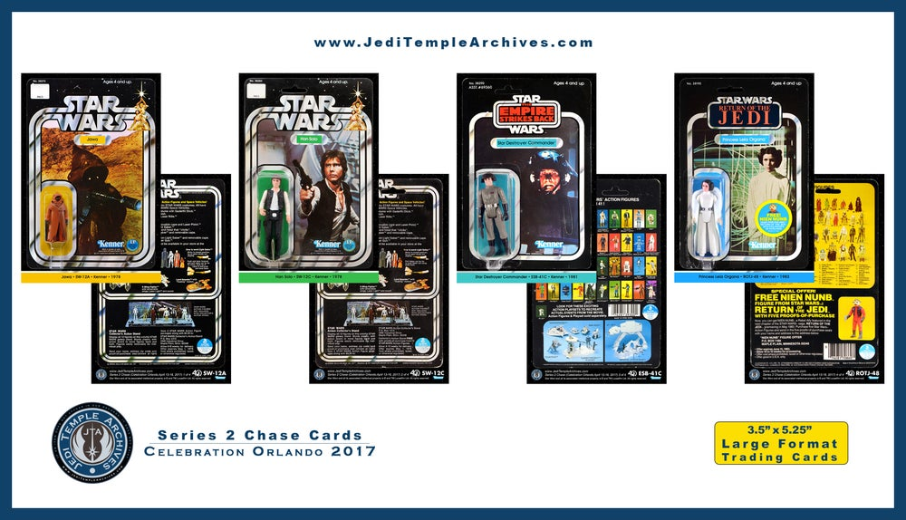 Image of Series 2 Chase Vintage Card Back Trading Cards (set of 4): Celebration Orlando 2017