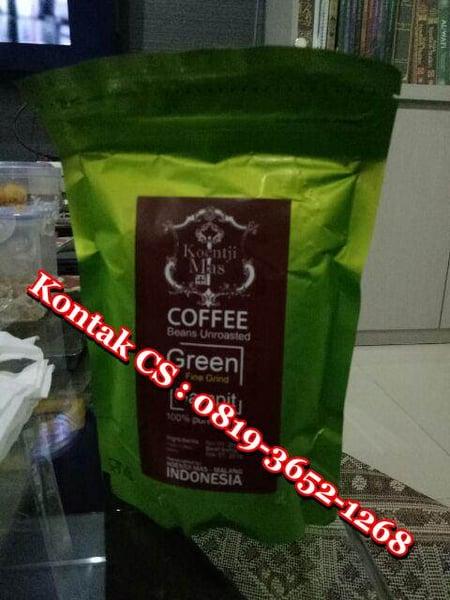 Image of Jual Green Coffee Bean Asli Kirim Ke Jakarta