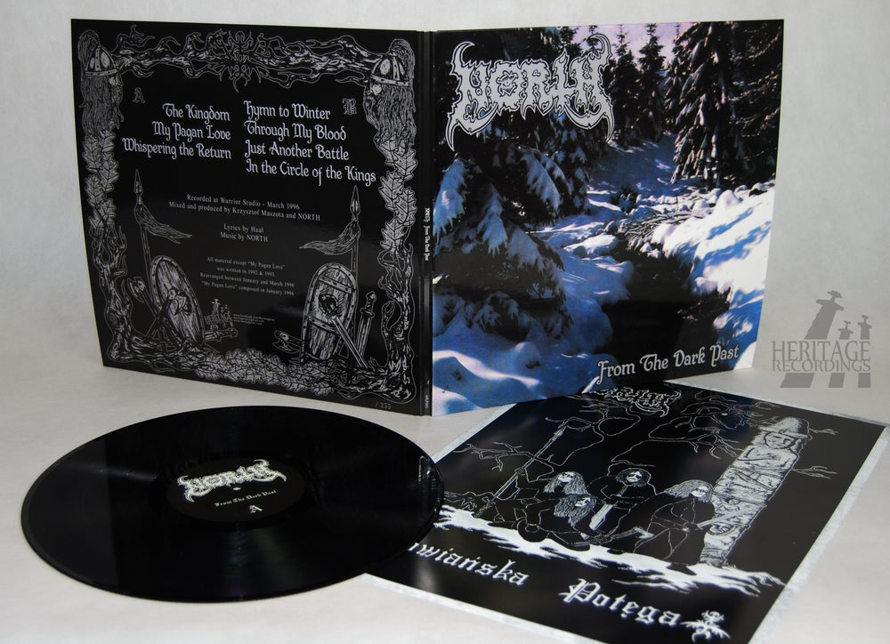 "Image of NORTH ""From The Dark Past"" 12"" LP"