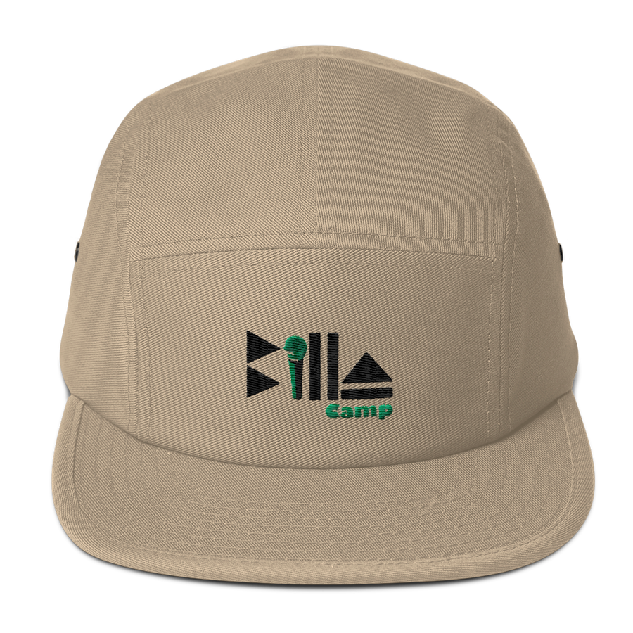 "Image of Dark Khaki ""BC"" 5 Panel Hat"
