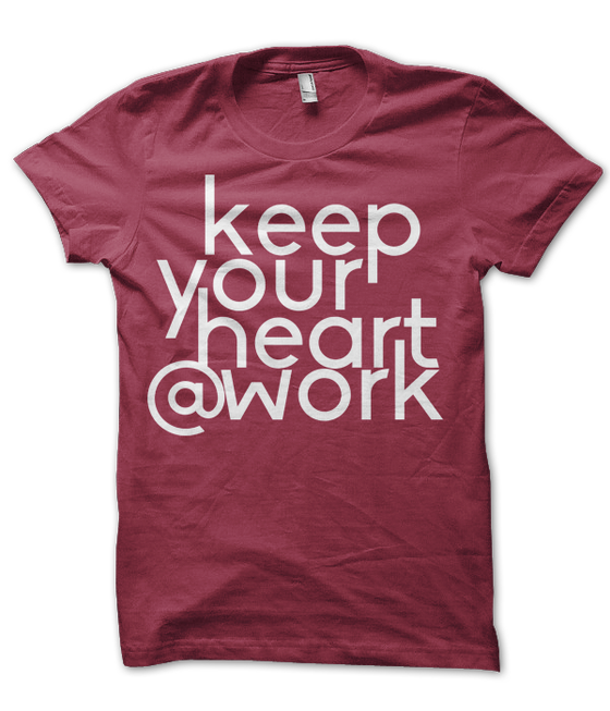 Image of Heart@Work Tee