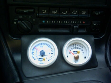 91 99 Mr2 Mk2 Ash Tray Pod 2 X 52mm Gauges Camposites