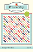 Image of Scrappy Bow Ties Paper Pattern #1006