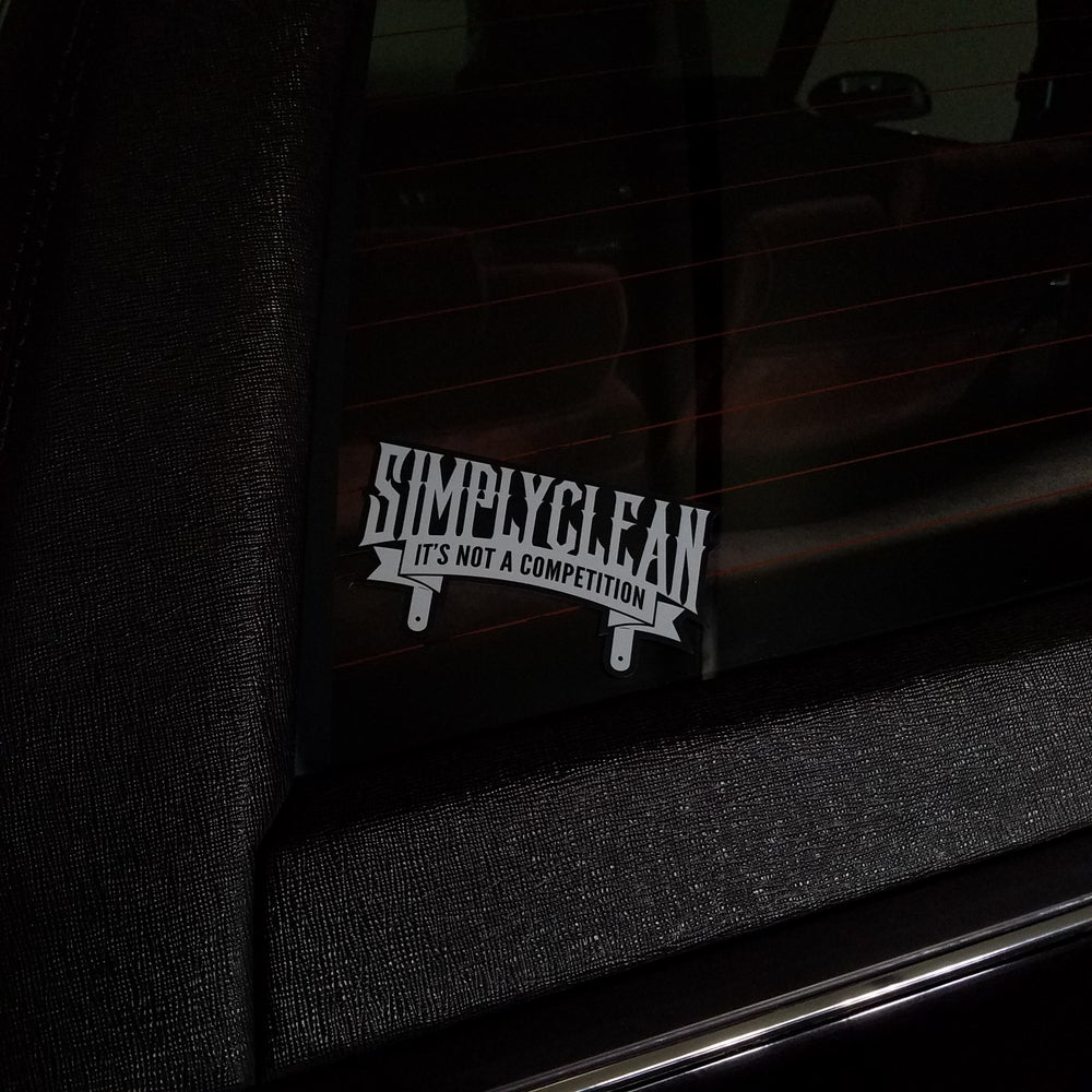 Image of Simply Clean Plaque Sticker