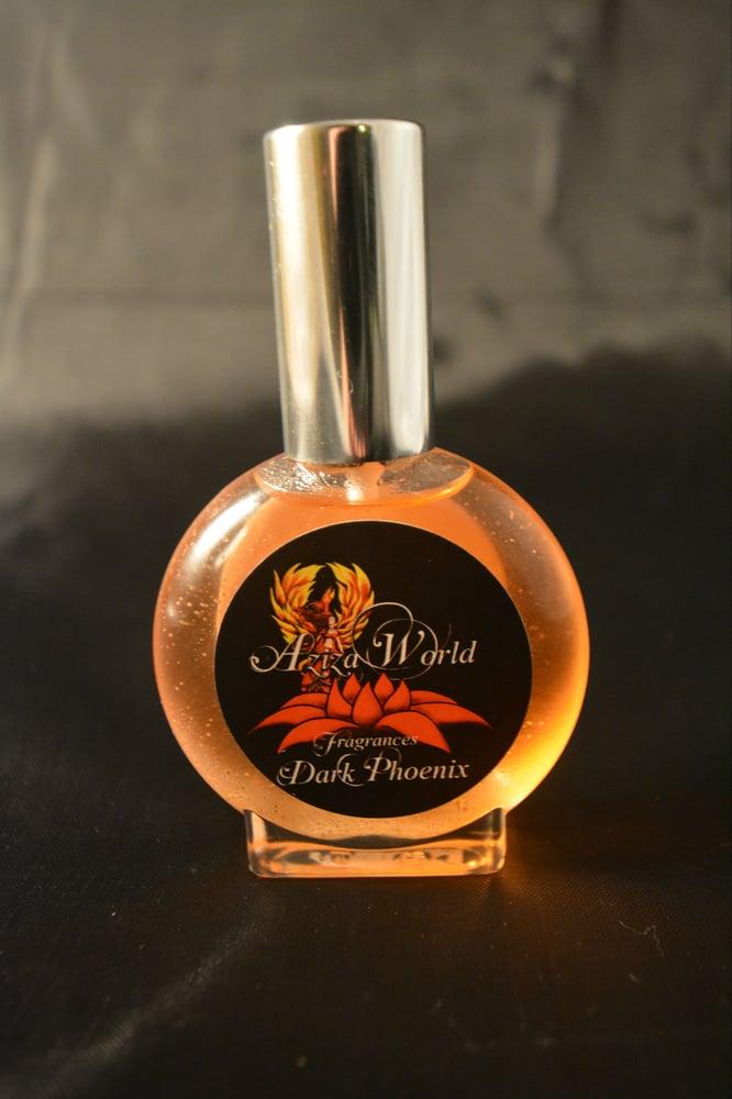 Image of Dark Phoenix Perfume, Oriental Spice with Frankincense, Myrrh, Orchid, Handmade Ladies Perfume