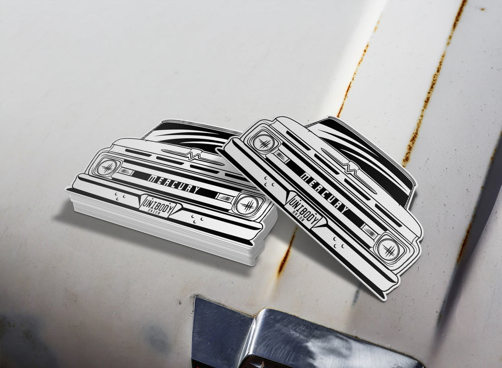 Image of 1961 Mercury M100 Sticker