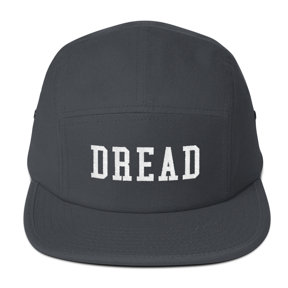 """Image of Charcoal Gray """"Dread"""" 5 Panel Hat"""