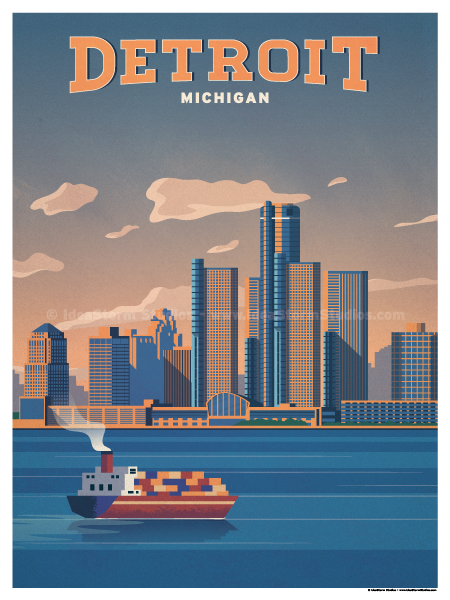 Image of Detroit Poster