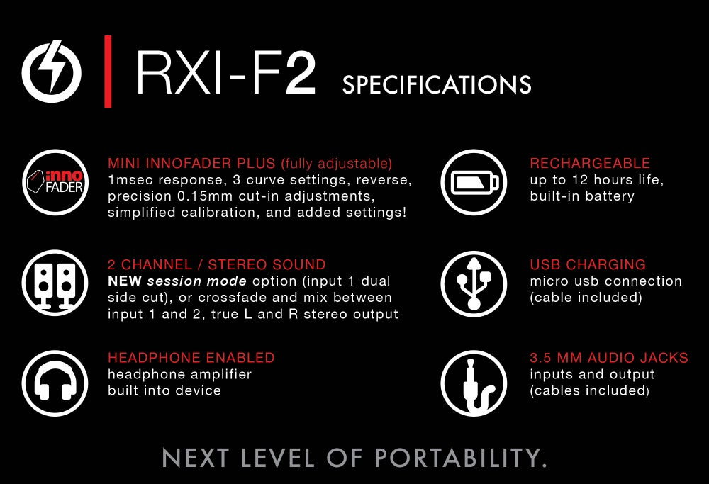 Image of RXI-F2 - Portable Fader , RESTOCKING IN MAY!