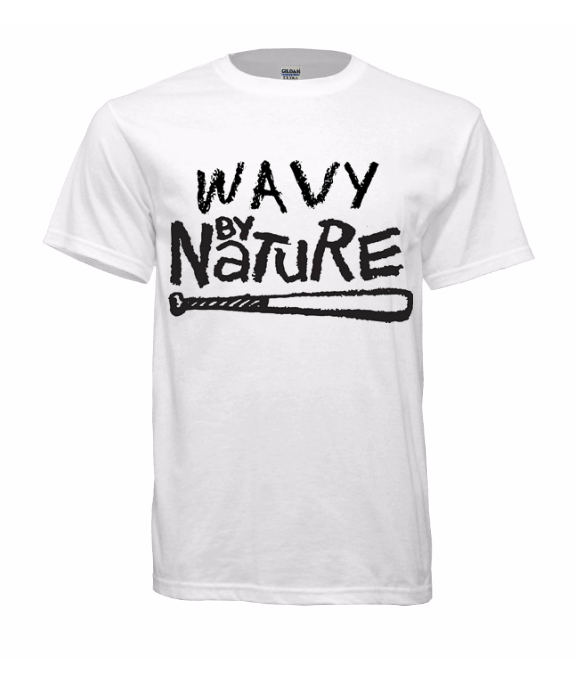 """Image of """"Wavy By Nature"""" Tee"""