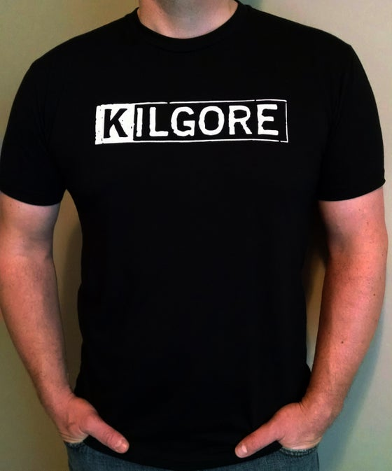 Image of Kilgore Logo MENS BLACK T-shirt