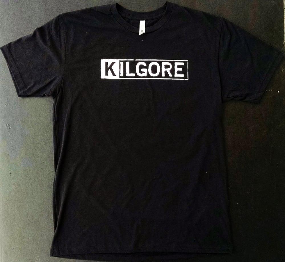 Image of Kilgore Logo MENS BLACK T-shirt