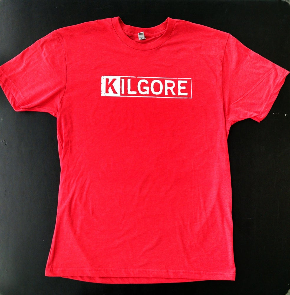 Image of Kilgore Logo MENS RED T-shirt *Limited Edition*