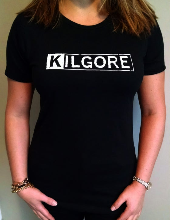 Image of Kilgore Logo LADIES BLACK T-shirt