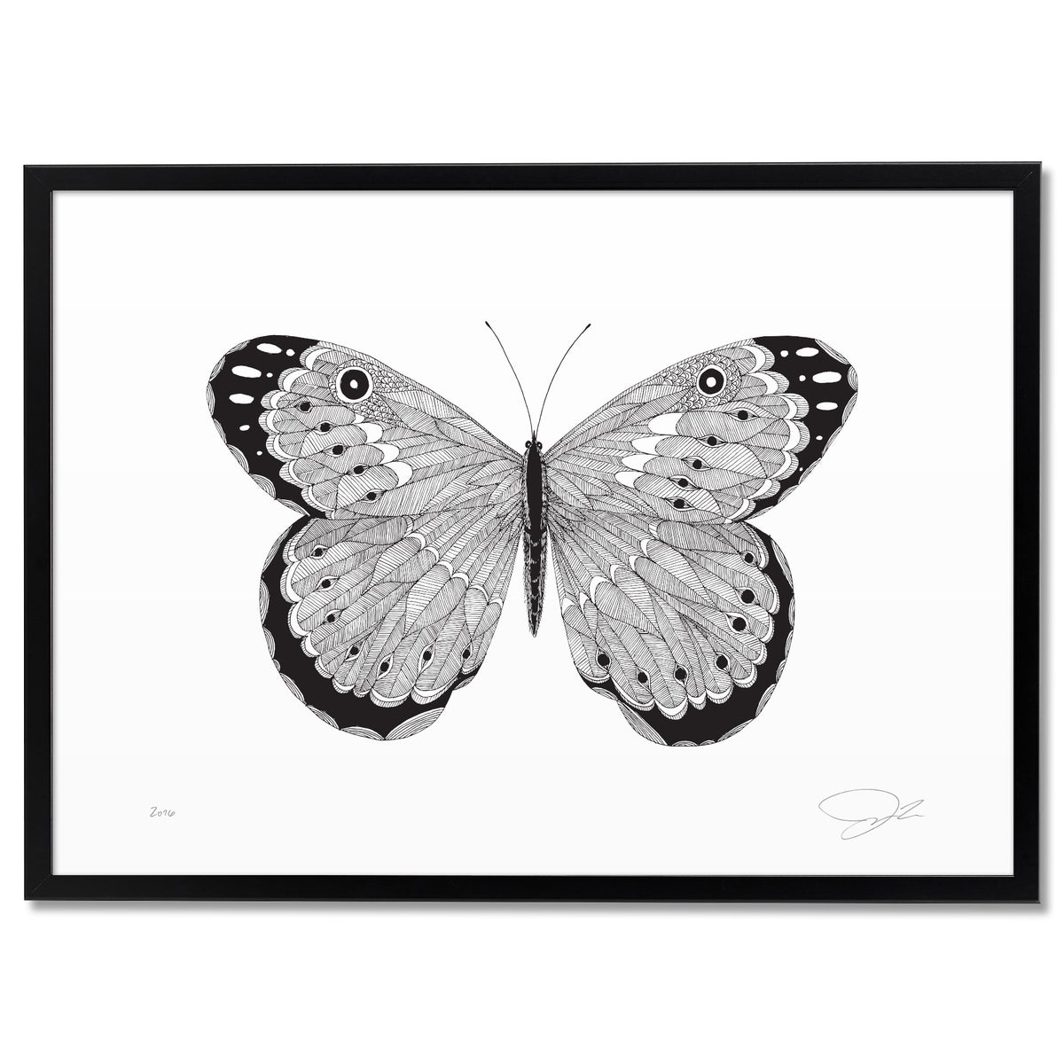 Image of Print: Butterfly