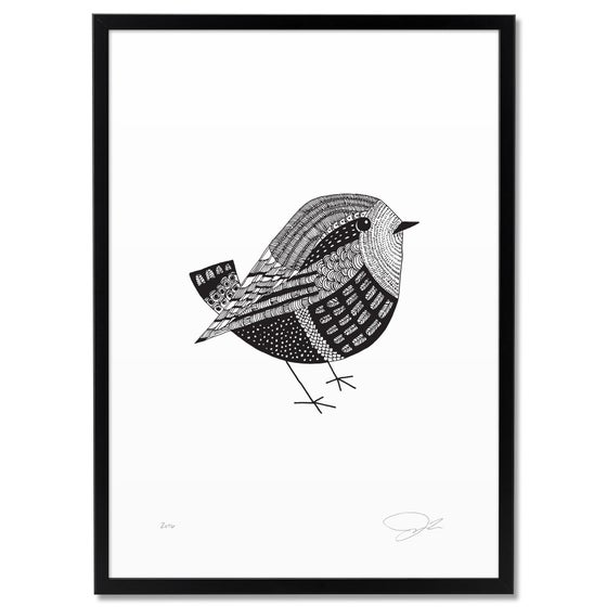 Image of Print: Bird Small
