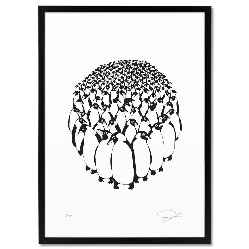 Image of Print: Penguins