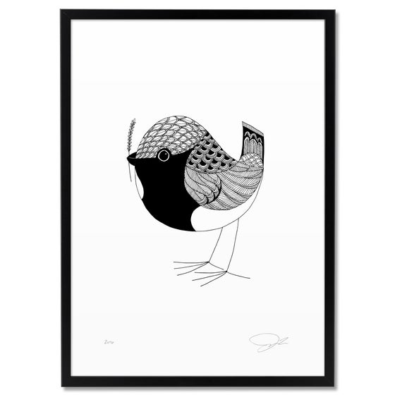 Image of Print: Bird IX