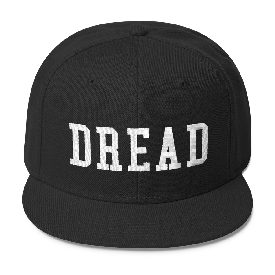 "Image of Black ""Dread"" Snapback"