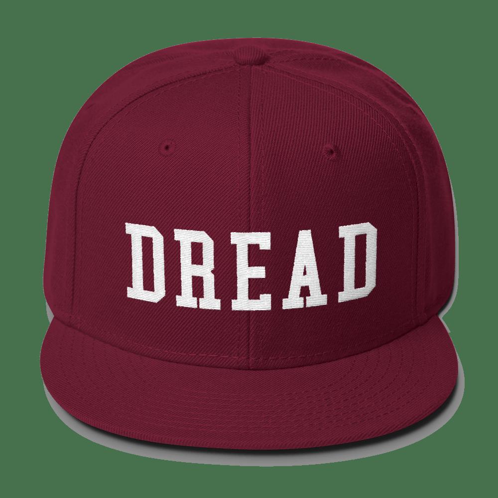 """Image of Maroon """"Dread"""" Snapback"""