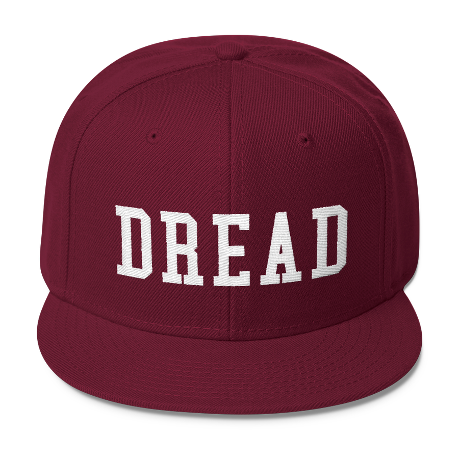 "Image of Maroon ""Dread"" Snapback"