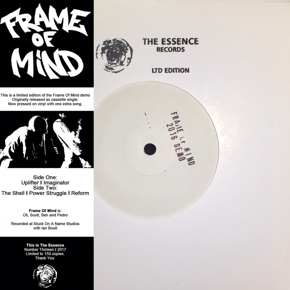 "Image of FRAME OF MIND ""2016 Demo"" 7""EP"