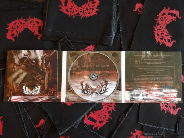 Image of Uerberos - Tormented By Faith [Limited Edition Digipack and Patch]